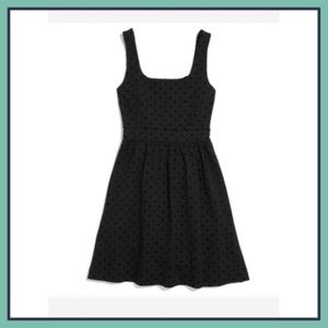 Madewell Black Dot Dress
